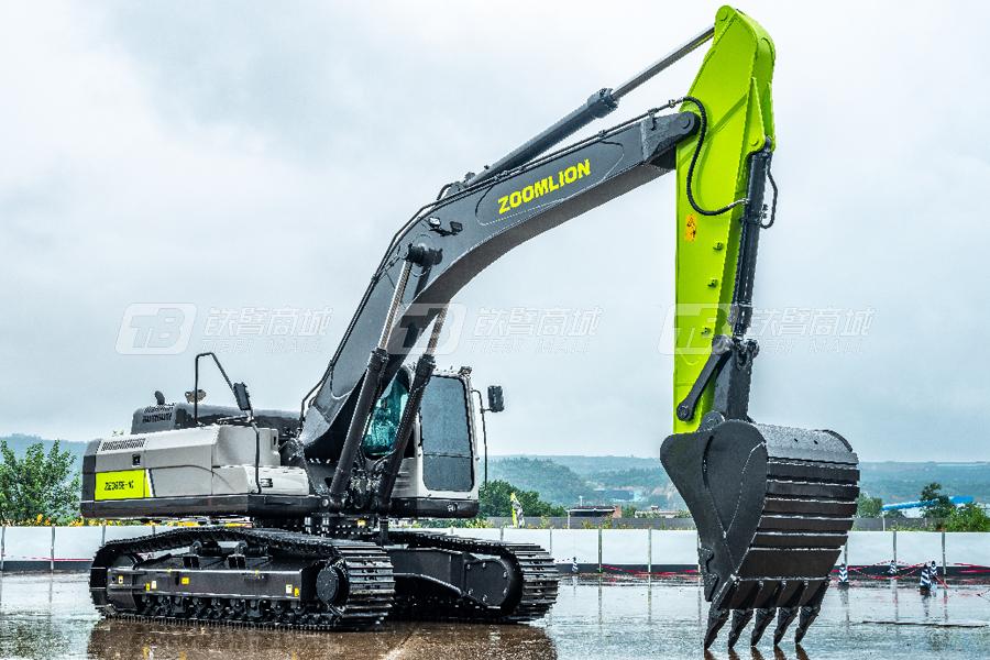 中联重科ZE365E-10履带挖掘机外观图1