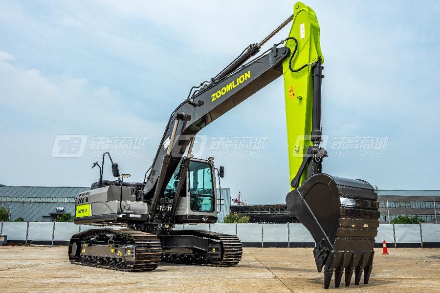 中联重科ZE215E-10履带挖掘机外观图1
