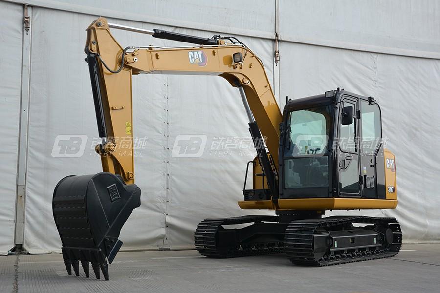 卡特彼勒新一代CAT®307小型液压挖掘机外观图2