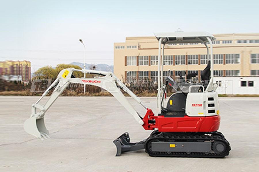竹内TB215R履带挖掘机外观图1