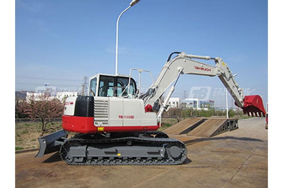 竹内TB1135C履带挖掘机外观图1