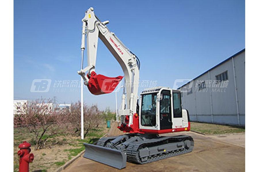 竹内TB1135C履带挖掘机外观图2