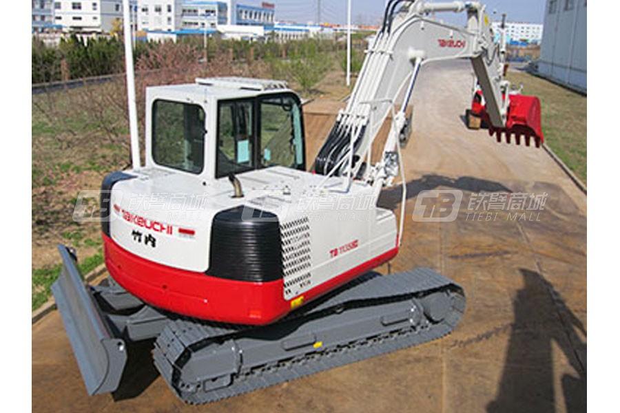 竹内TB1135C履带挖掘机外观图3