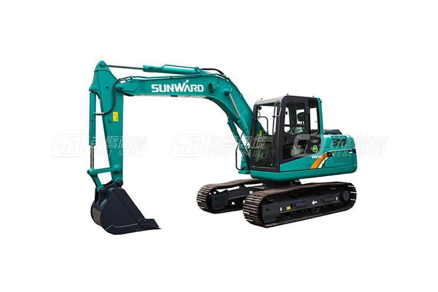 山河智能SWE100E小型挖掘机