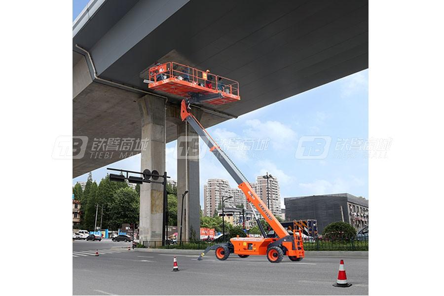 浙江鼎力GTBZ16SU自行走直臂桥式高空作业平台外观图1