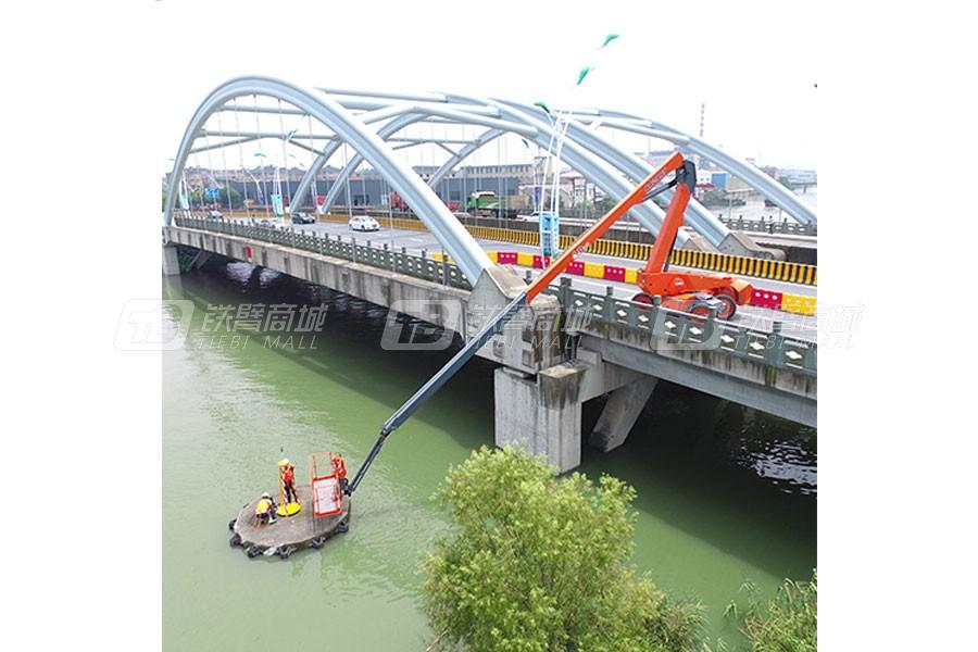 浙江鼎力BA28RT自行走曲臂式高空作业平台外观图1