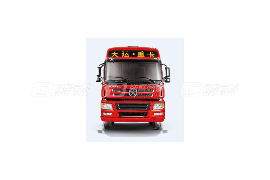 大运新N8E钜赢2.0版 6×4 LNG公路牵引车外观图3