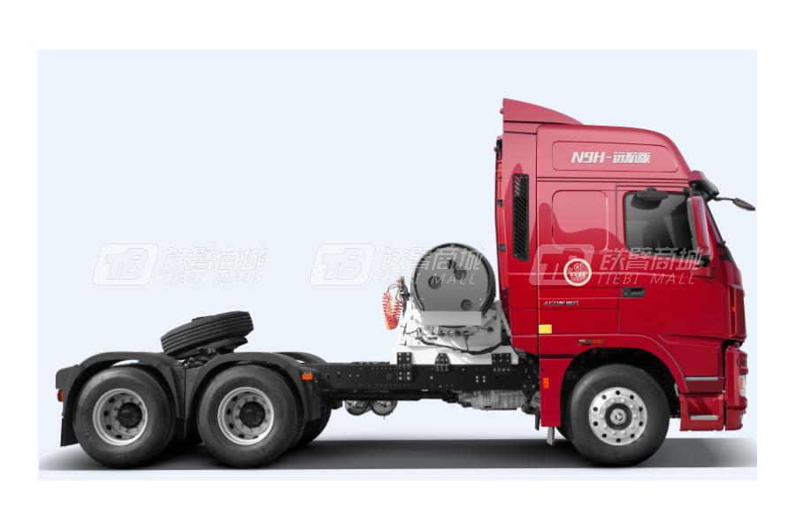 大运N9H远航2.0版 6x4 LNG公路牵引车外观图0