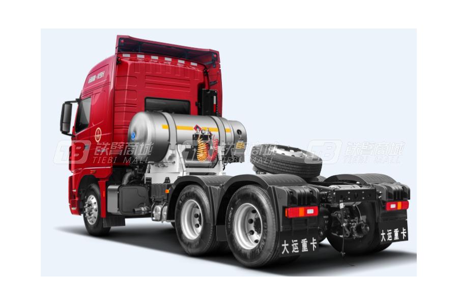 大运N9H远航2.0版 6x4 LNG公路牵引车外观图1