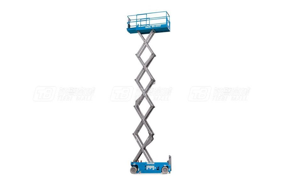 吉尼GS-3232电动和双能源剪型高空作业平台