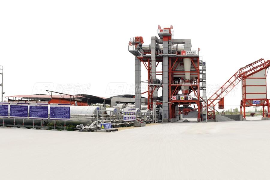 德基机械DGR4000整体式再生沥青搅拌设备外观图1