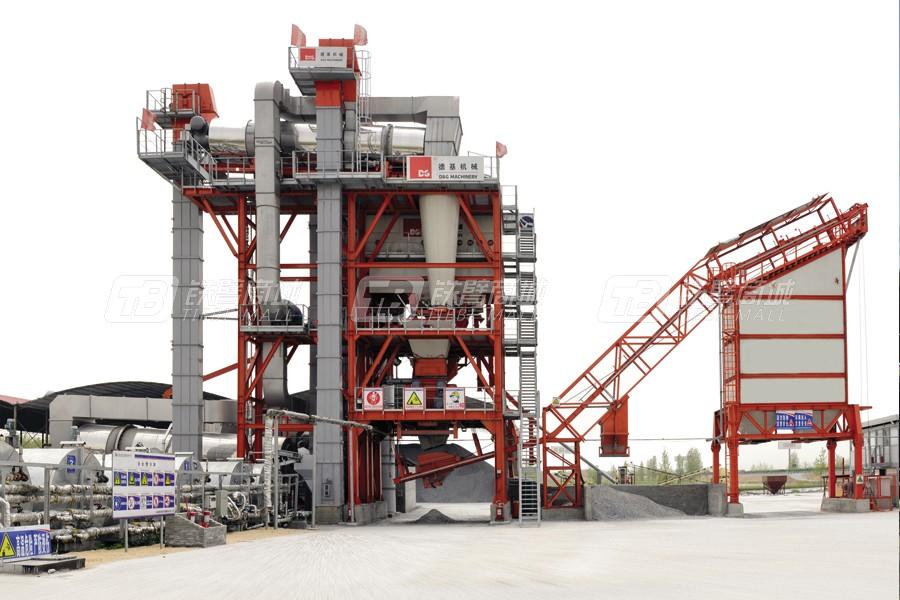 德基机械DGR4000整体式再生沥青搅拌设备外观图2