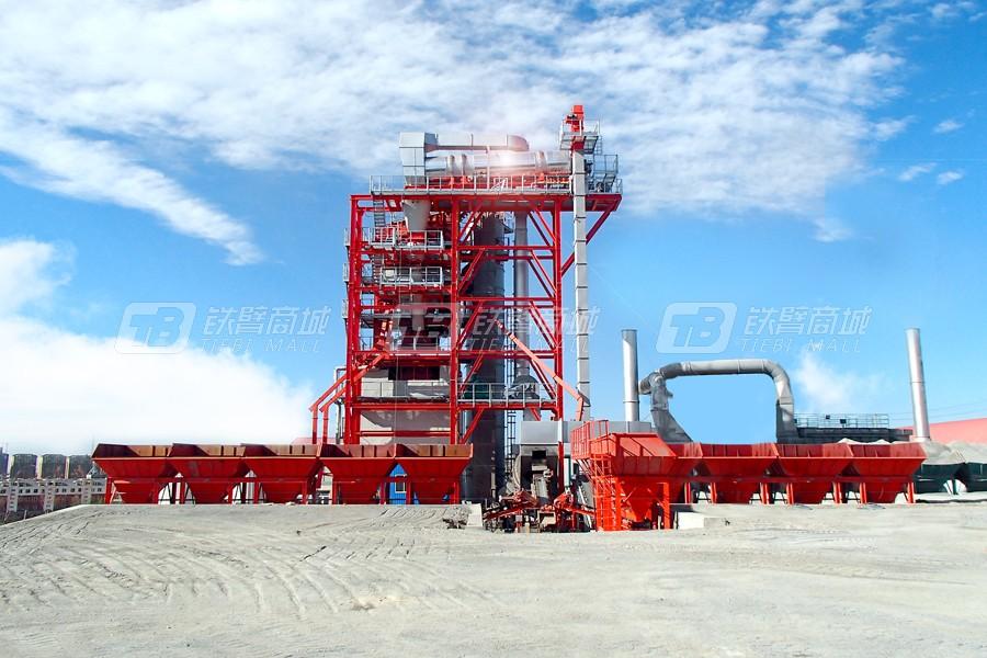 德基机械DGR4000整体式再生沥青搅拌设备外观图3