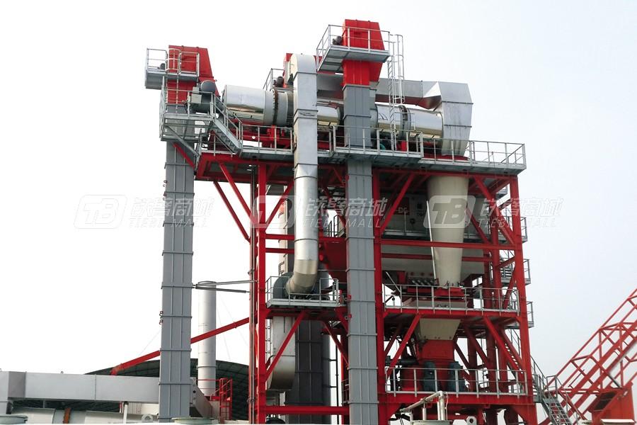 德基机械DGR4000整体式再生沥青搅拌设备外观图4