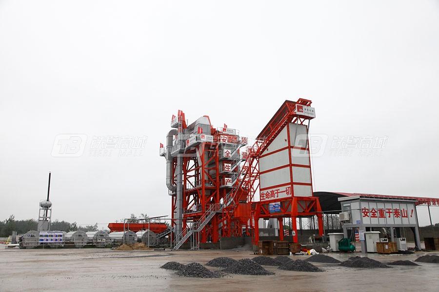 德基机械DGR4000整体式再生沥青搅拌设备外观图6
