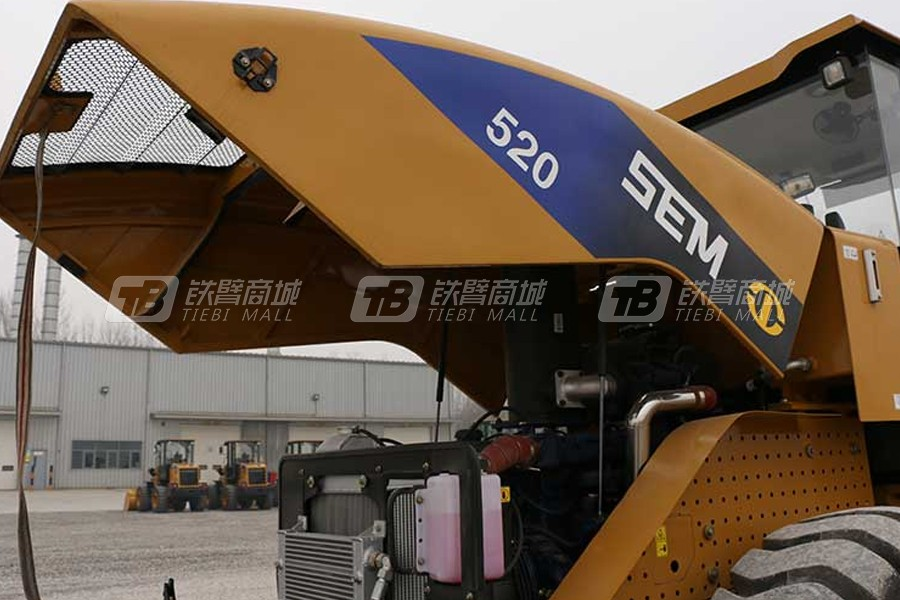 山工SEM520单钢轮压路机细节图0