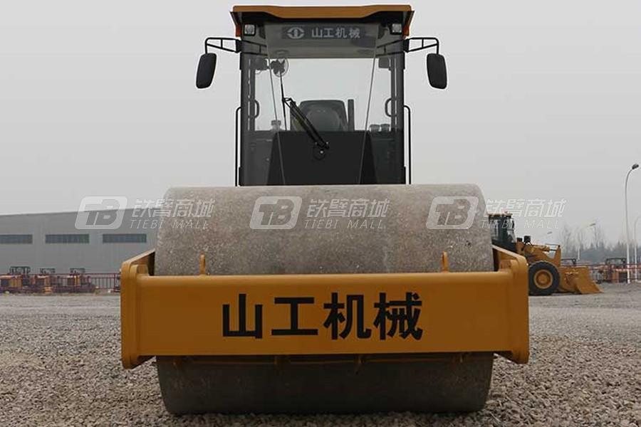 山工SEM520单钢轮压路机外观图0