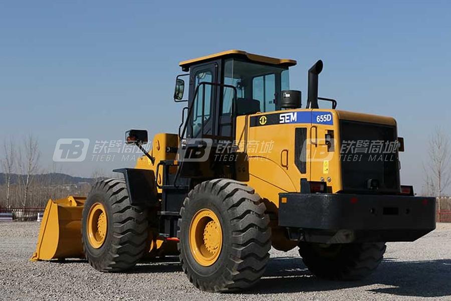 山工SEM655D轮式装载机外观图1