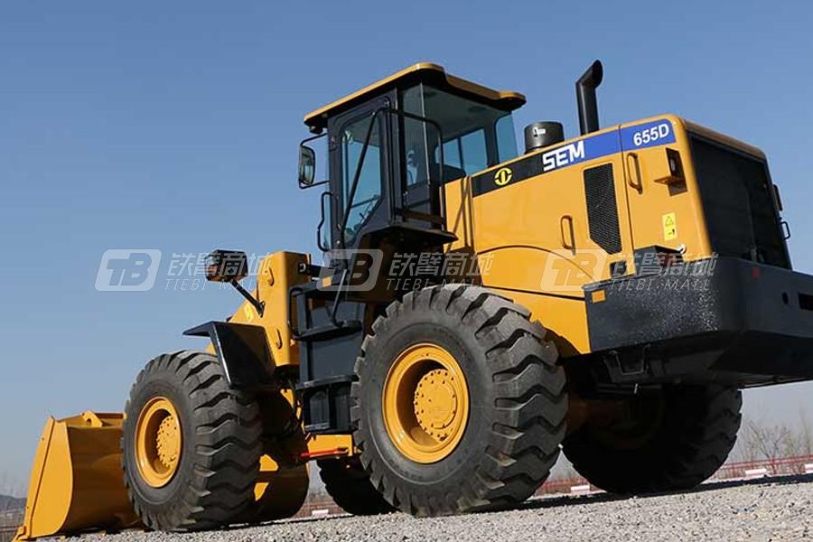 山工SEM655D轮式装载机外观图2