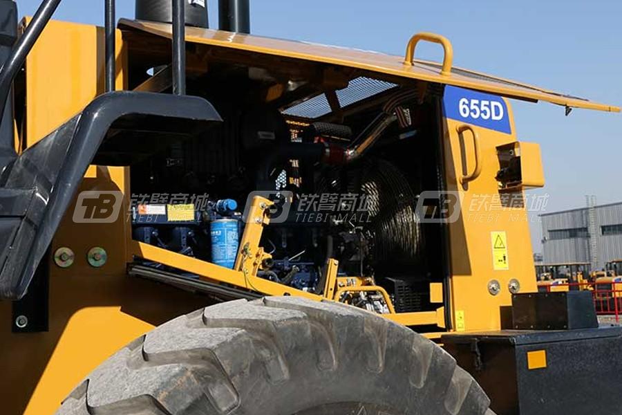 山工SEM655D轮式装载机细节图1