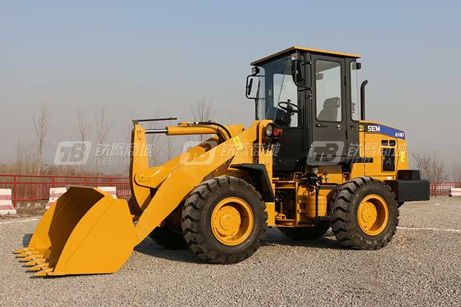 山工SEM618D轮式装载机外观图0