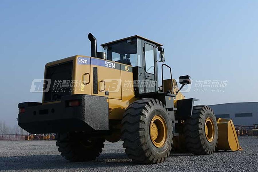 山工SEM652D轮式装载机外观图3