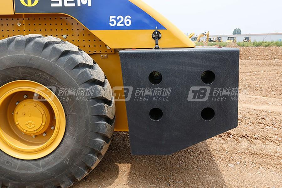 山工SEM526单钢轮压路机细节图1