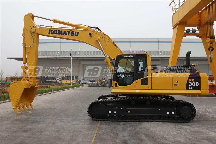 小松PC300-8M0液压挖掘机外观图5