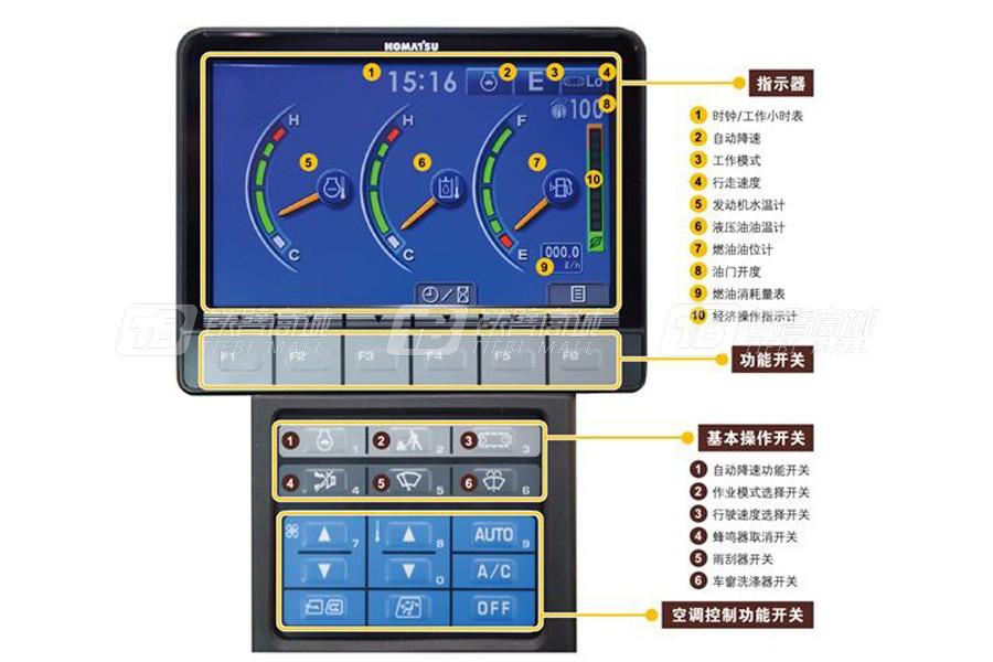 小松PC300-8M0液压挖掘机细节图4