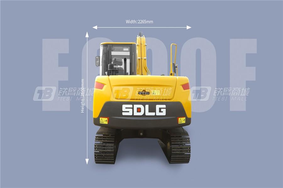 山东临工E690F履带挖掘机外观图4