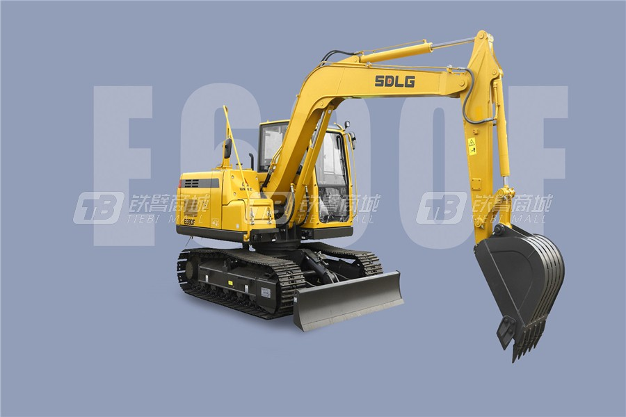 山东临工E690F履带挖掘机外观图7