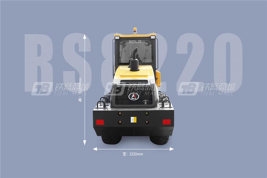 山东临工RS8220单钢轮压路机外观图2