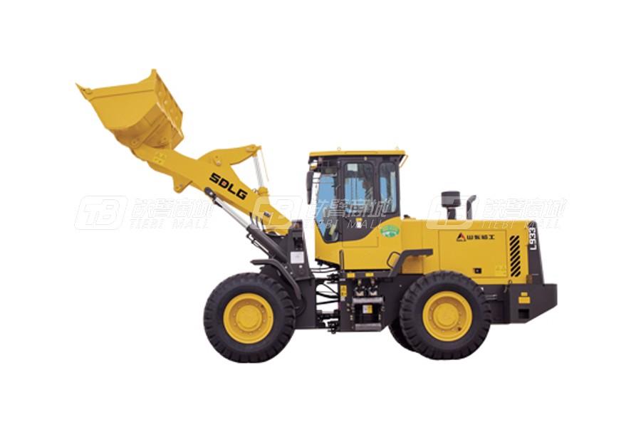 山东临工L933轮式装载机外观图2