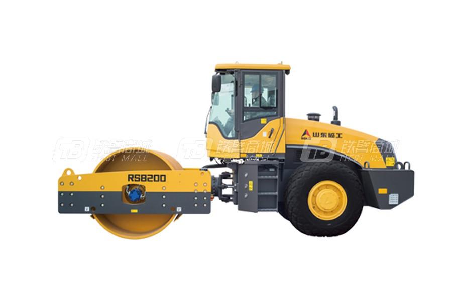 山东临工RS8200单钢轮压路机外观图1