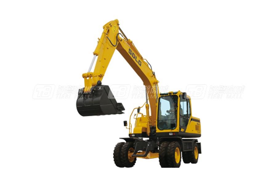 山东临工E7150F轮式挖掘机外观图1