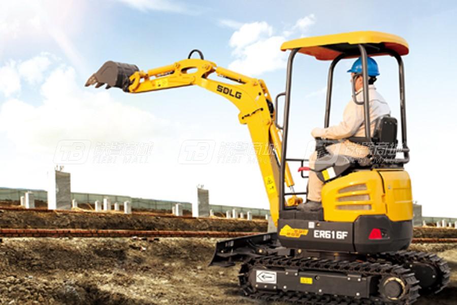 山东临工ER616F履带挖掘机外观图2