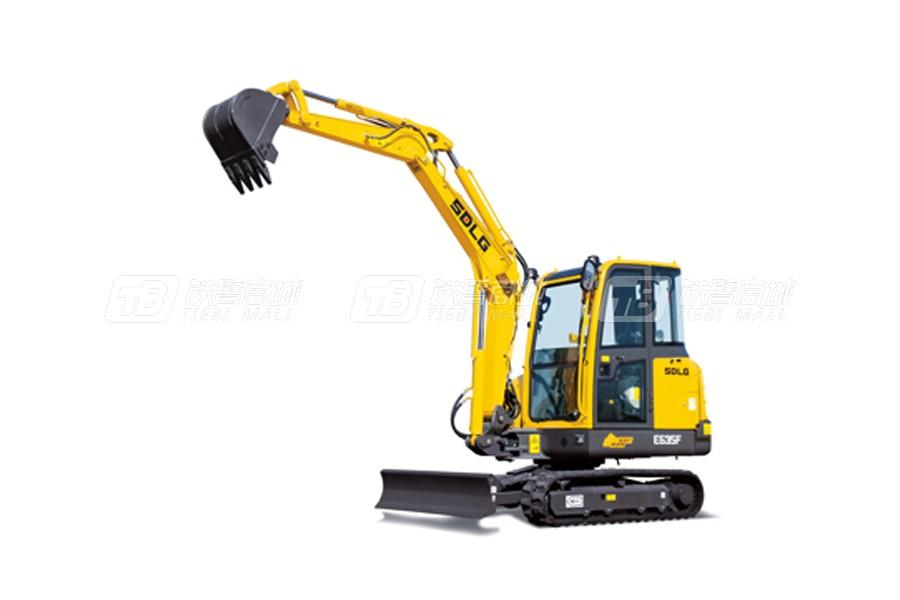 山东临工E635F履带挖掘机外观图1