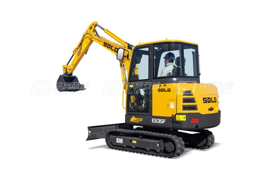山东临工E635F履带挖掘机外观图2
