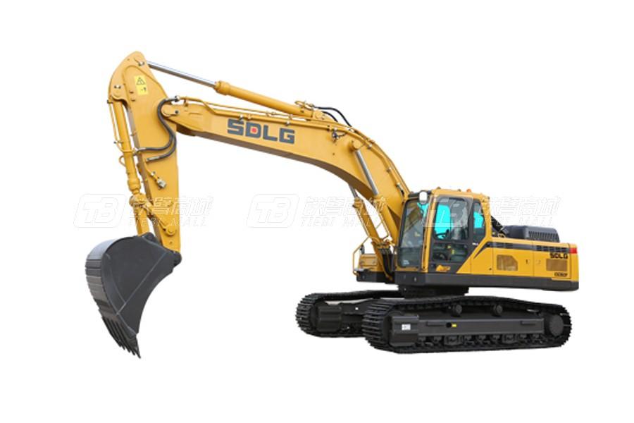 山东临工E6360F履带挖掘机外观图2