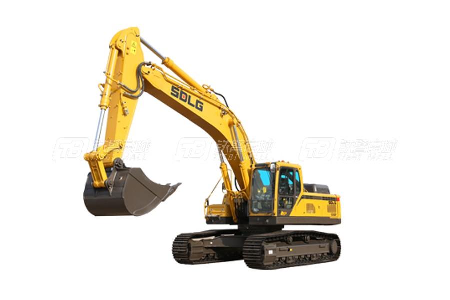 山东临工E6360F履带挖掘机外观图1