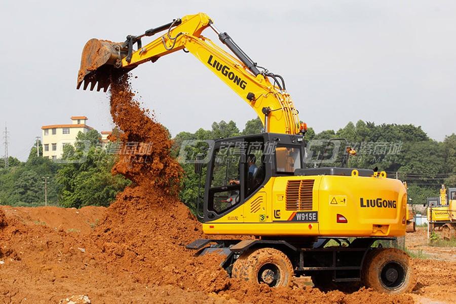 柳工W915E轮式挖掘机其他图1