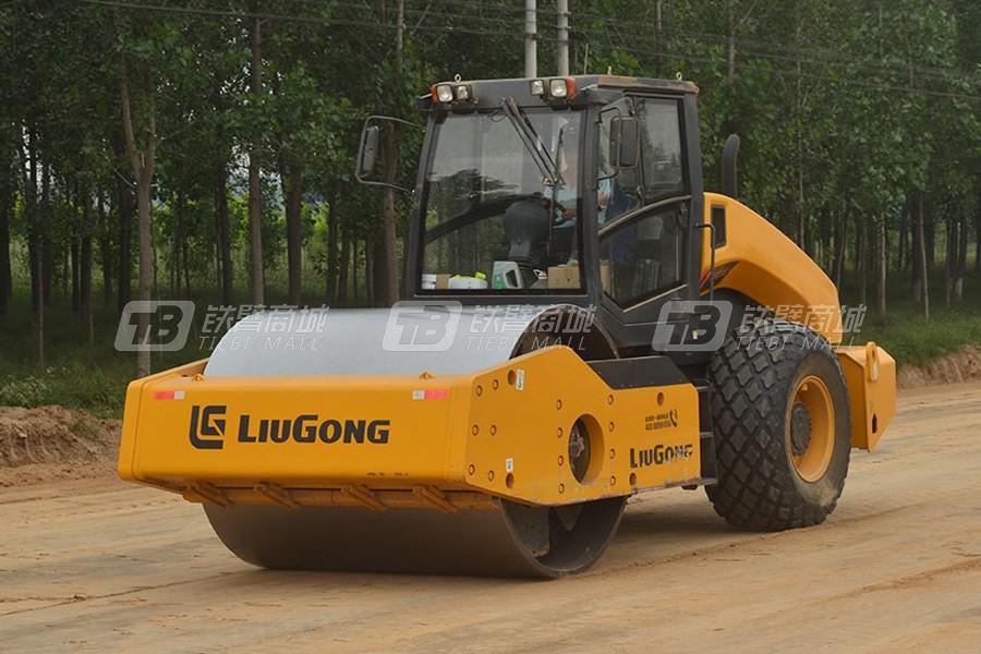 柳工6620E单驱-全液压单钢轮压路机其他图0