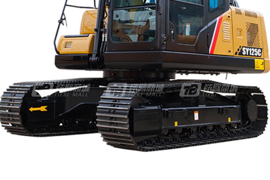 三一SY125C履带挖掘机细节图1
