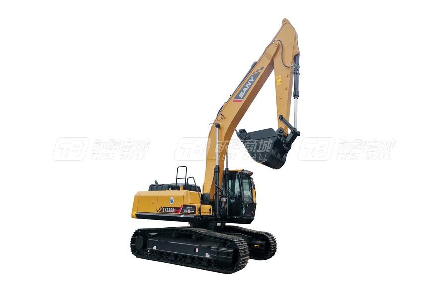 三一SY335H pro履带挖掘机外观图1