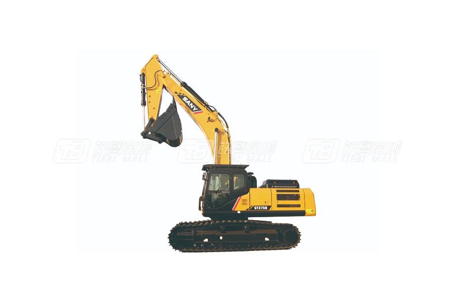 三一SY375H履带挖掘机外观图0