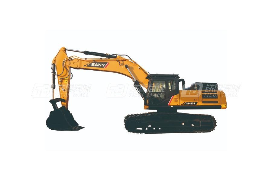 三一SY415H履带挖掘机外观图1