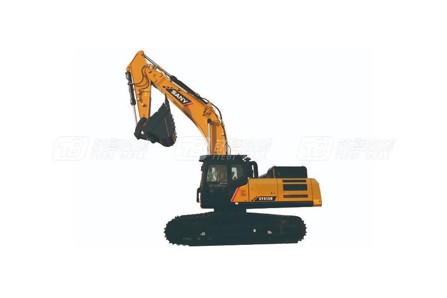 三一SY415H履带挖掘机外观图4