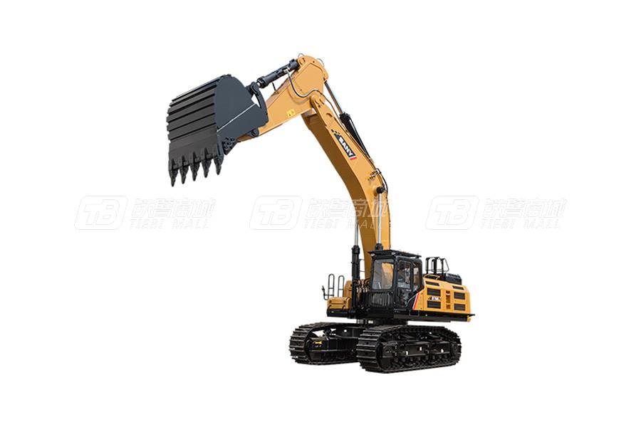 三一SY750H大型挖掘机外观图2