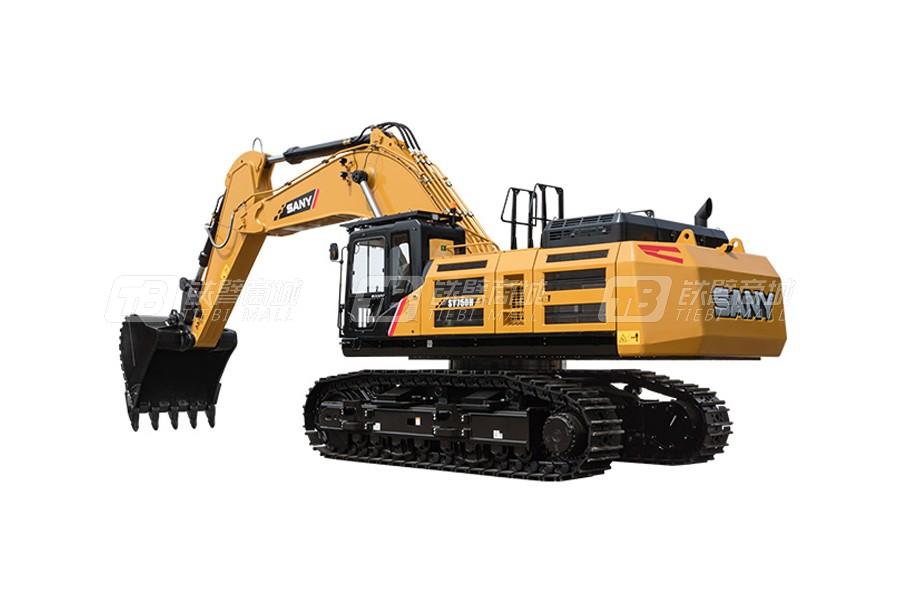 三一SY750H大型挖掘机外观图1