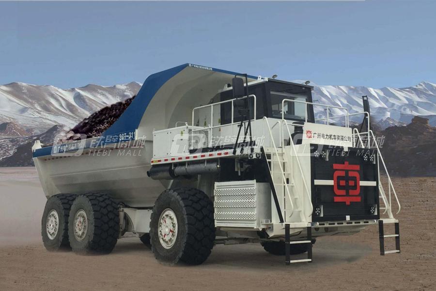 中国中车SCT-311电动传自卸车(100吨级)